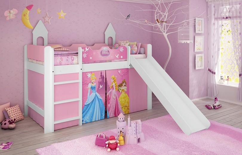 cama com escorregador princesas 939,00