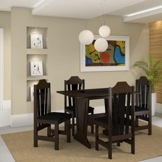 mesa ibiza 4 cadeiras 789,00