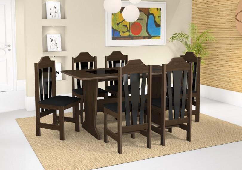 mesa ibiza 6 cadeiras .. 1.029,00