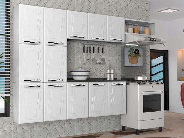 Armário de Cozinha – Bambolim Móveis # Armario De Cozinha Aco Ricardo Eletro